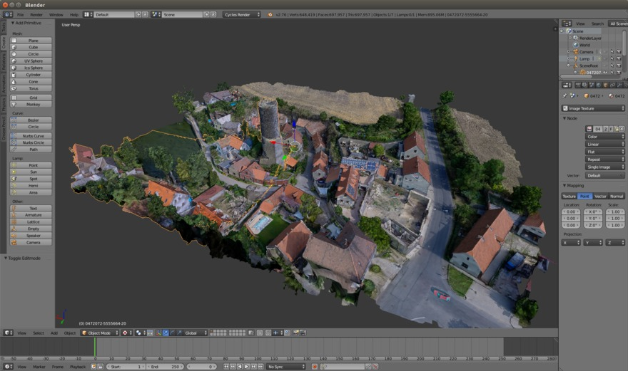 Vadstena Meshes Are Now Available as glTF and Cesium 3D